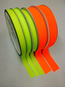 ECOMAGIC products with fluorescent yellow and orange red